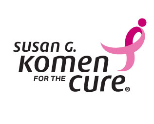 Komen for the Cure pink ribbon