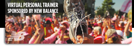 Virtual Personal Trainer Sponsored by New Balance