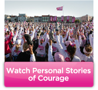 Watch Personal Stories of Courage